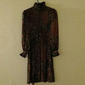 Vintage Dresses - Vintage Raul Blanco Semi Sheer Dress